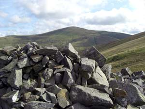 Great Dodd from White Pike on Clough Head on the 25 peaks challenge
