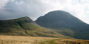 Great Gable and Green Gable in the Lake District