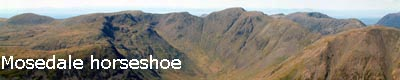Lake District challenges The Mosedale horseshoe
