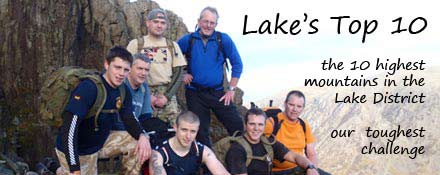 The Lake's Top tenchallenge an alternative to the 3 peaks challenge