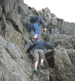 Pike O'Blisco scramble