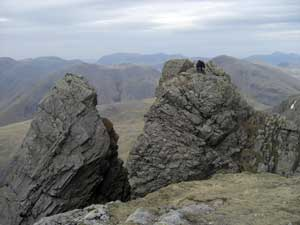Pisgah & Scafell Pinnacle on Scafell in the Lake District