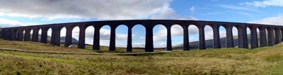 Ribblehead Viduct - stat of the route to the 2nd of the 3 peaks