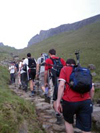 Lake District 25 peaks challenge. Scafell Pike