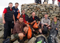 Scafell Pike summit clean up